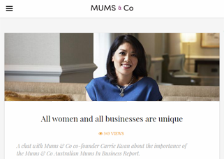 Mums & Co – Australian Mums in Business Report