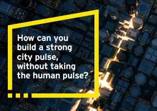 How can you build a strong city pulse, without taking the human pulse?